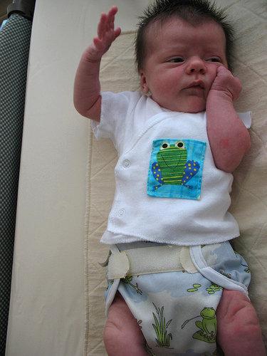 οι υφασμάτινες πάνες είναι όμορφες στα μωράκια